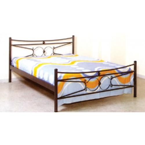 Κρεβάτι MC18 Μεταλλικό Διπλό (140x190) cm