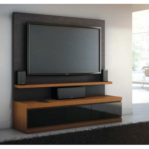Σύνθεση Έπιπλο TV βάση 126 Οξιά-Δρυς (150x190x44) cm