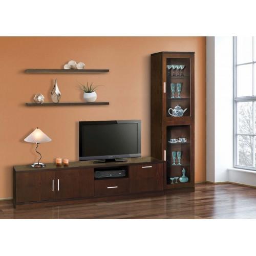 Σύνθεση Έπιπλο TV βάση 140 Οξιά-Δρυς (200x45x44) cm