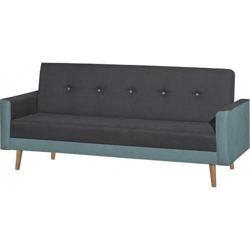 Finland Silver Τριθέσιος Καναπές Κρεβάτι (200x100) cm