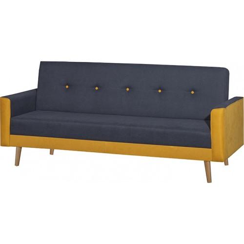 Finland Smoke Τριθέσιος Καναπές Κρεβάτι (200x80) cm