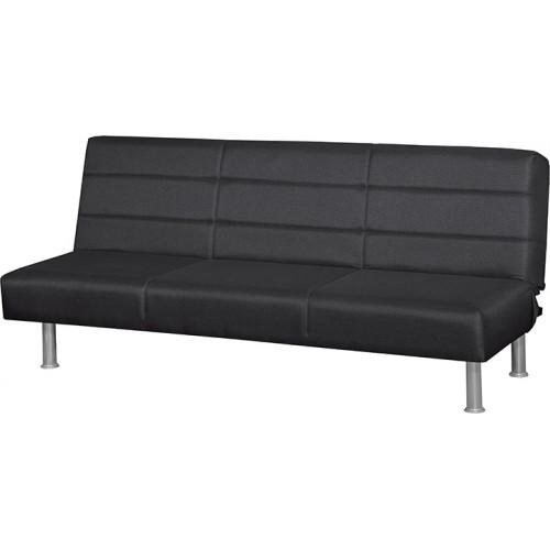 Κλικ-κλακ Madison Square Τριθέσιος Καναπές Κρεβάτι (180x95) cm Ανθρακί