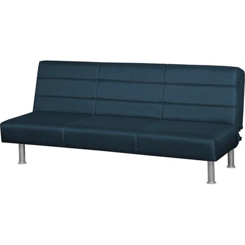 Κλικ-κλακ Madison Square Τριθέσιος Καναπές Κρεβάτι (180x95) cm Μπλε