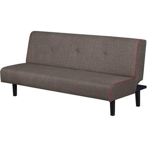 Κλικ-κλακ Linea Τριθέσιος Καναπές Κρεβάτι (170x95) cm Καφέ