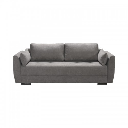 Albak Τριθέσιος Καναπές Μπεζ- Κρεβάτι (231x97x75) cm