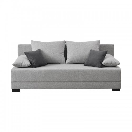 Dante Τριθέσιος Καναπές Κρεβάτι Γκρι Χρώμα (198x88x77) cm