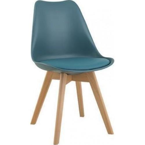 Καρέκλα Demy Πετρόλ