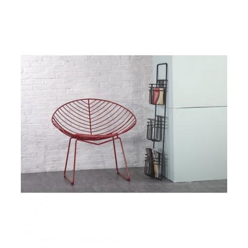 Καρέκλα 5003 Μεταλλική Με Μαξιλάρι