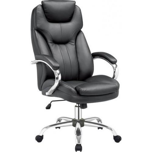 Πολυθρόνα Γραφείου Bs3200 Μαύρη 01-0054 (62x72x114-124) cm