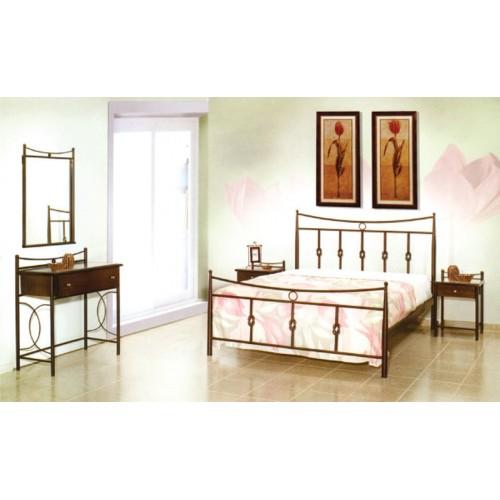 Κρεβάτι μεταλλικό διπλό MC 32 (150x200) cm