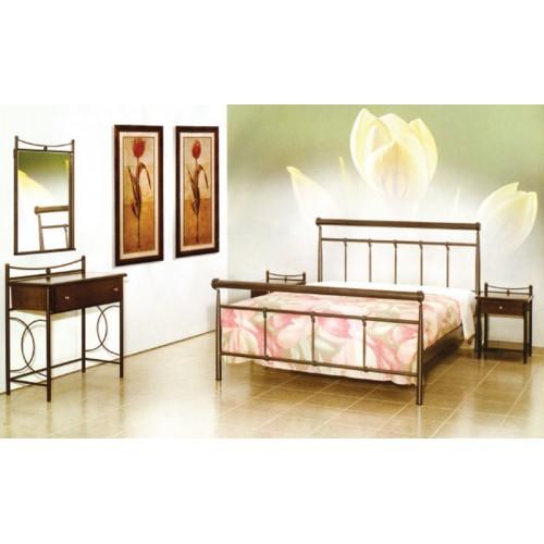Κρεβάτι μεταλλικό διπλό MC 33 (150x200) cm