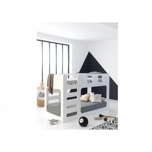 Διώροφα κρεβάτια - ΚΟΥΚΕΤΑ BOXY (206x97x130) cm
